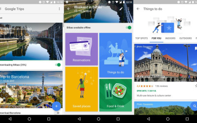 Google Trips: una aplicación para viajeros